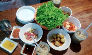 Angeles-City-Fields-Avenue-Walking-Street-Oppa-Korean-Restaurant-side-dish
